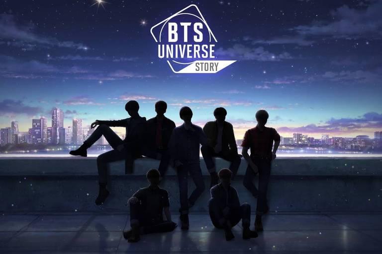 """Grupo de k-pop BTS ganha jogo de celular """"BTS Universe Story"""""""
