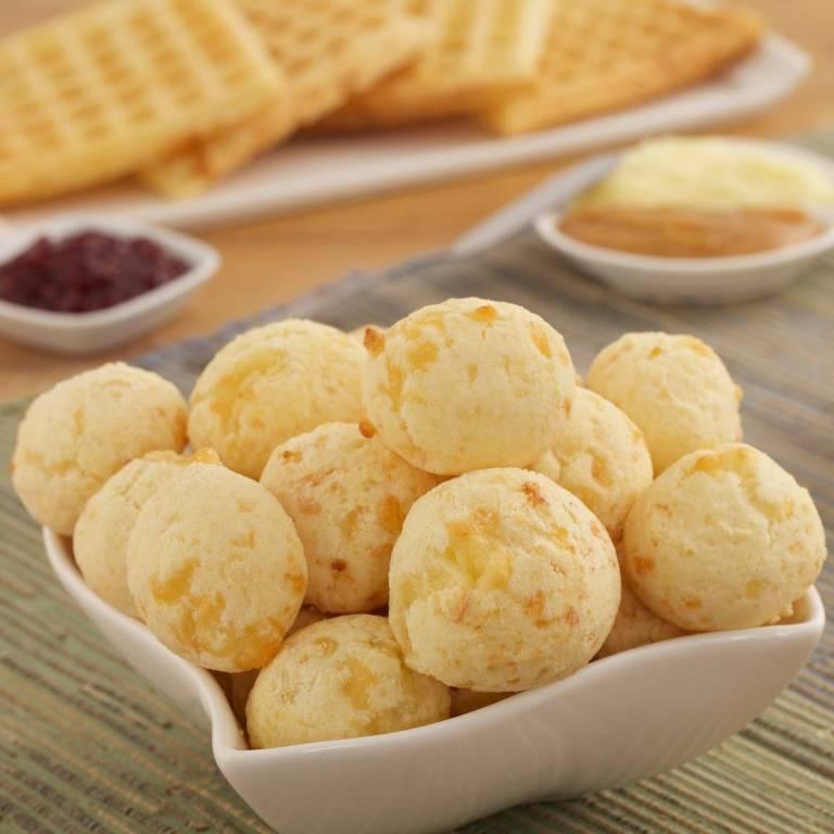 Pão de queijo da marca Formaggio Mineiro