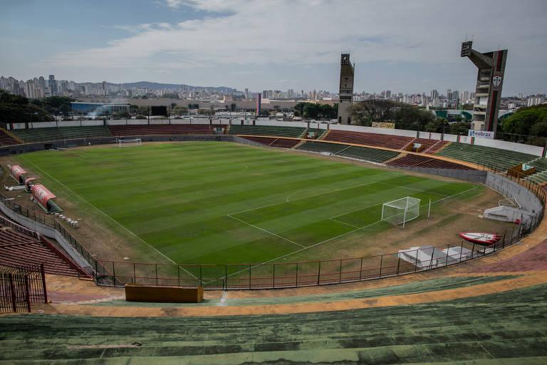 Estádio do Canindé, casa da centenária Portuguesa