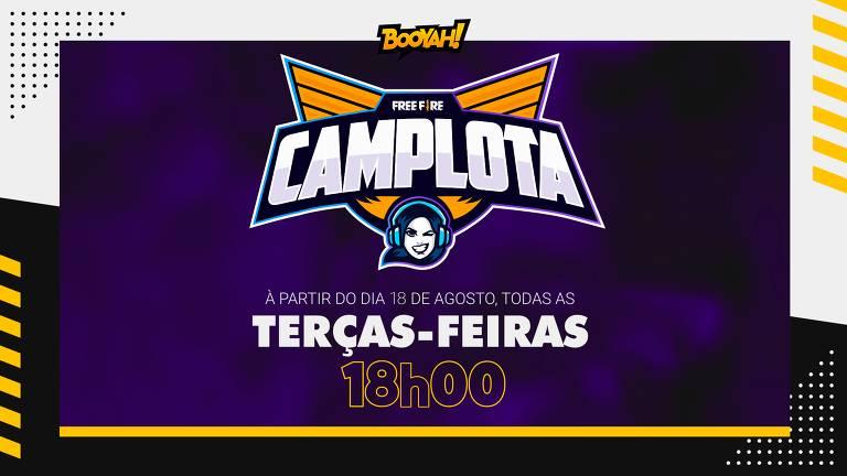 Campeonato CampLota terá 12 equipes femininas de 'Free Fire'
