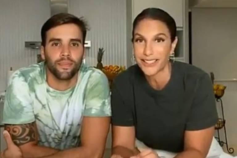 Ivete Sangalo e marido encontram cobra na casa em que passam a quarentena na Bahia