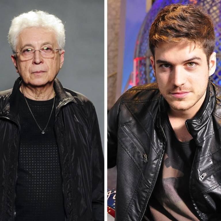 Aguinaldo Silva e Marco Pigossi