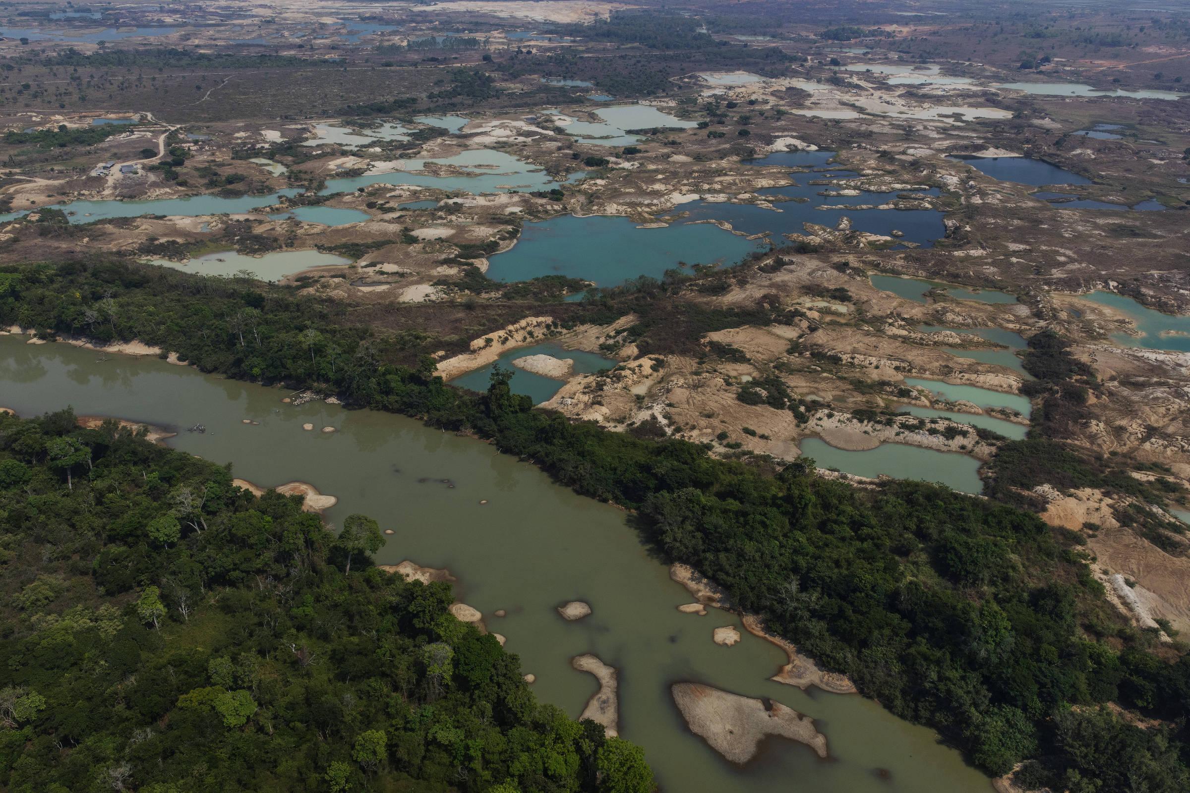 Cooperativa de garimpo recém-criada se alça a uma das maiores mineradoras na Amazônia