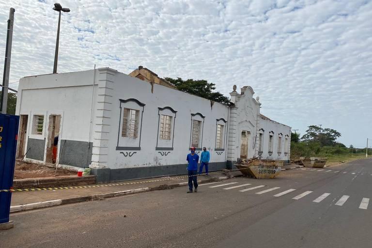 Estação ferroviária de Presidente Epitácio passará por reforma após incêndio