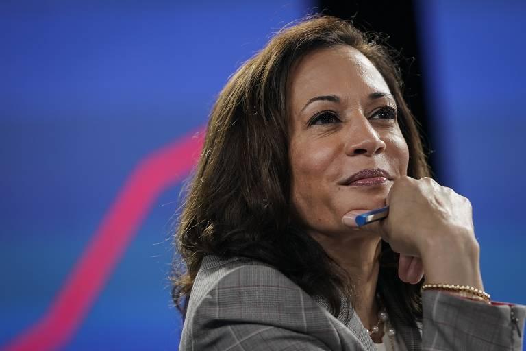 Kamala Harris, candidata a vice-presidente dos EUA pelo Partido Democrata