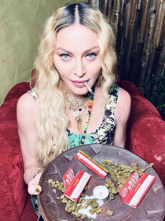 Imagens da cantora Madonna