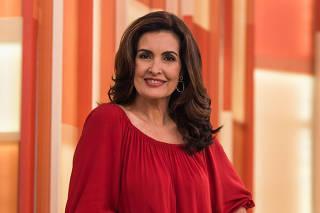 Retrato da jornalista e apresentadora Fátima Bernardes
