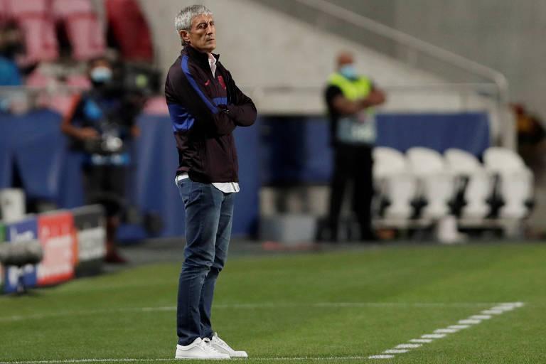 Barcelona demite Quique Setién e promete grande reformulação no time