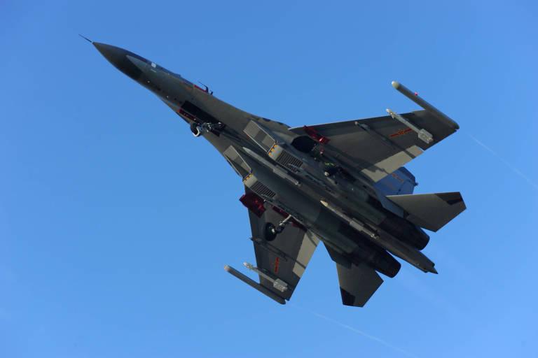 China responde ao apoio do G7 a Taiwan com maior incursão aérea até aqui