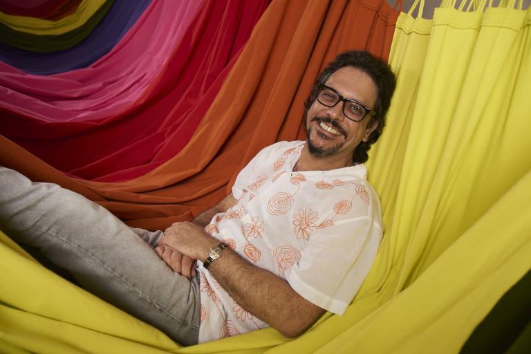 Imagens do ator Lúcio Mauro Filho