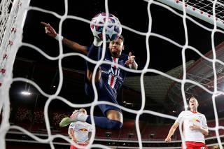 Champions League - Semi Final - RB Leipzig v Paris St Germain