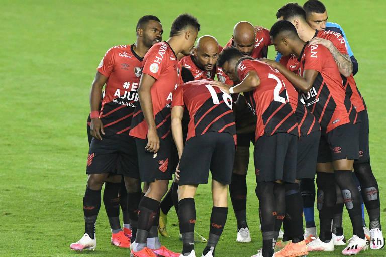 Time do Athletico, que recebe o Palmeiras neste sábado