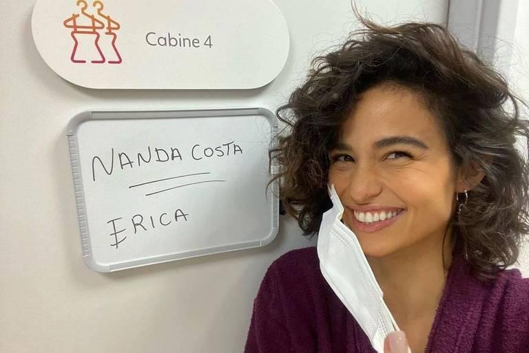 Nanda Costa. Amor de Mãe, novela
