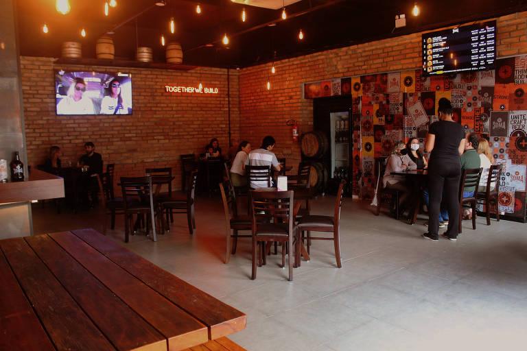 Nova cervejaria SOMA, em São Paulo