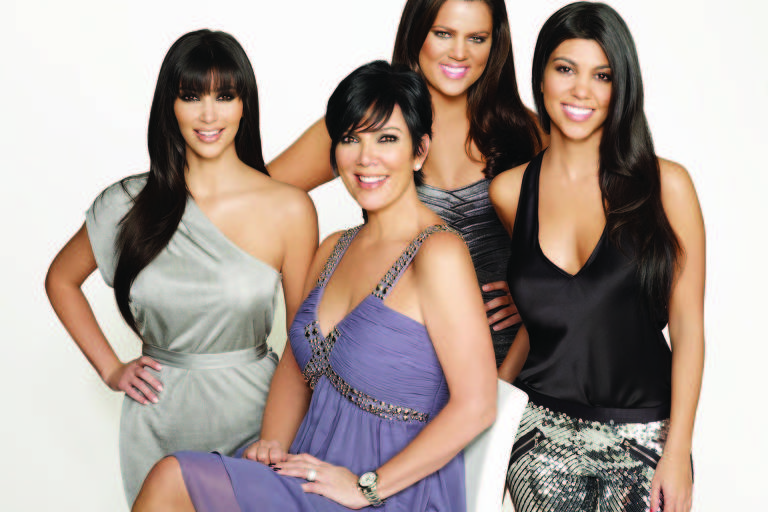Imagem promocional de Keeping Up with the Kardashians
