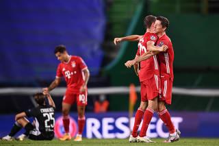 Champions League Semi Final - Olympique Lyonnais v Bayern Munich