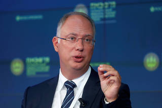 FILE PHOTO: Kirill Dmitriev, chief executive of the Russian Direct Investment Fund
