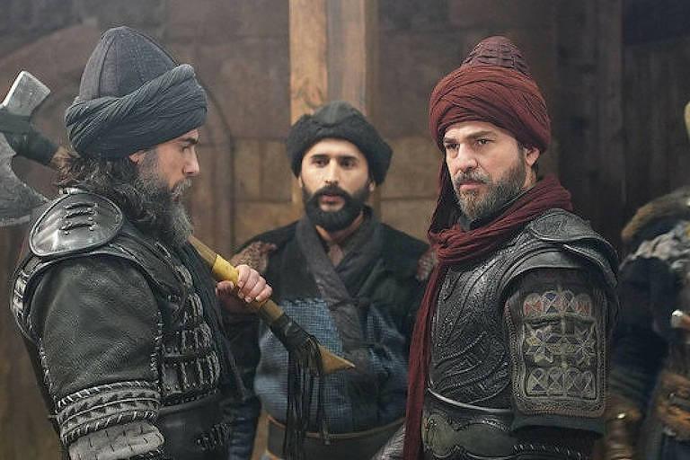 Cena da série 'O Grande Guerreiro Otomano'