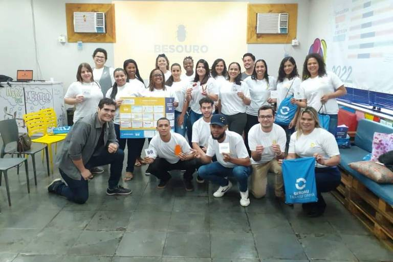 Participantes do programa Gerdau Transforma 2019