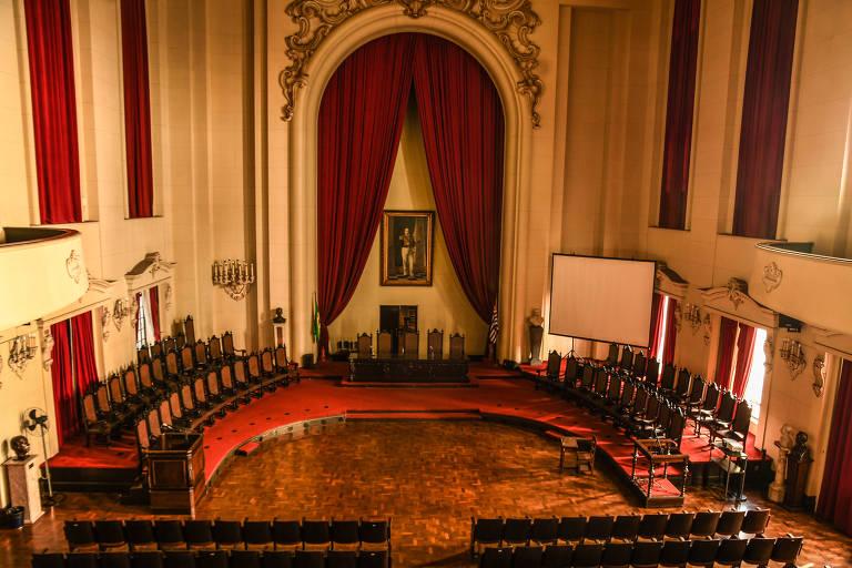 Salão Nobre da Faculdade de Direito São Francisco.