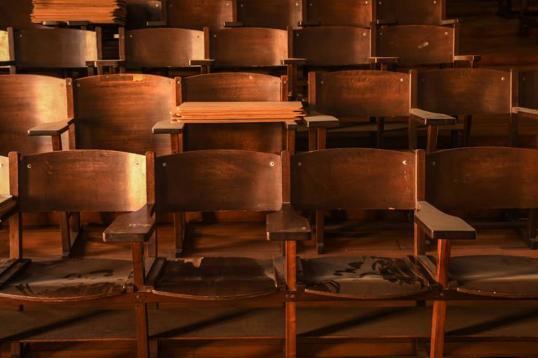 Prédio da São Francisco não recebe alunos desde o início da quarentena