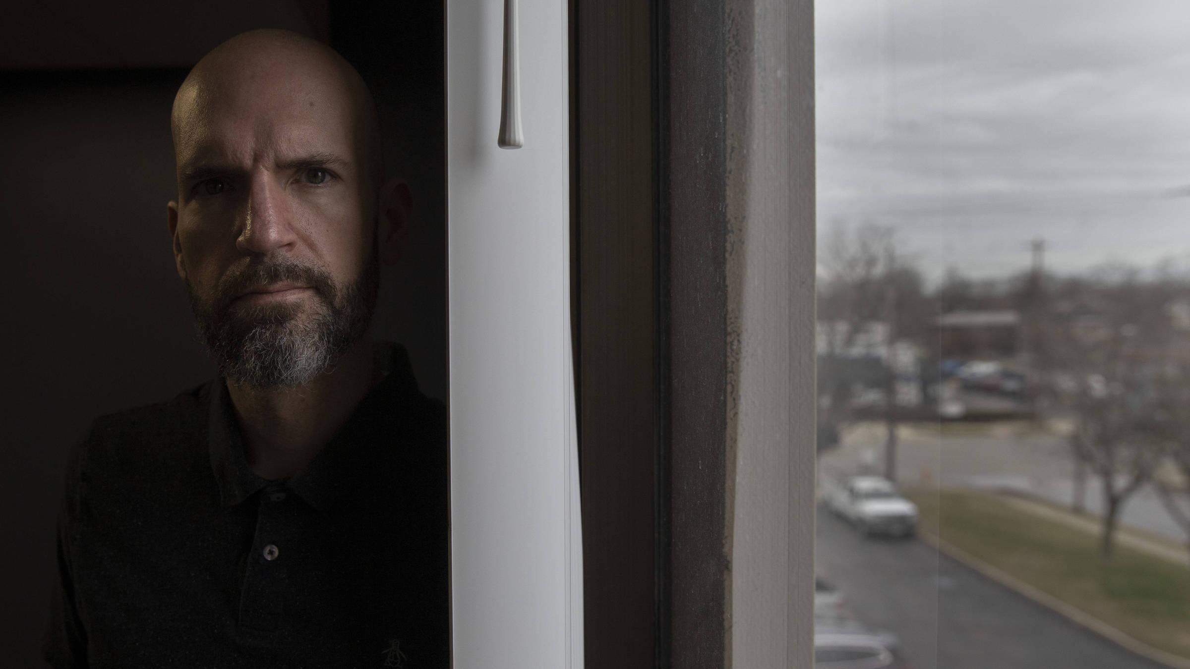 Nate Blake, ex-dependente que trabalha na clínica Maryhaven, em Columbus