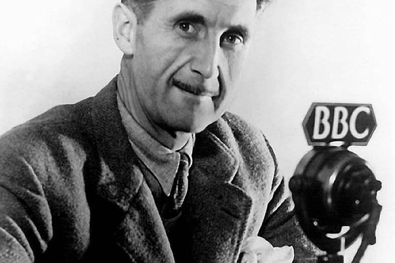O escritor britânico George Orwell