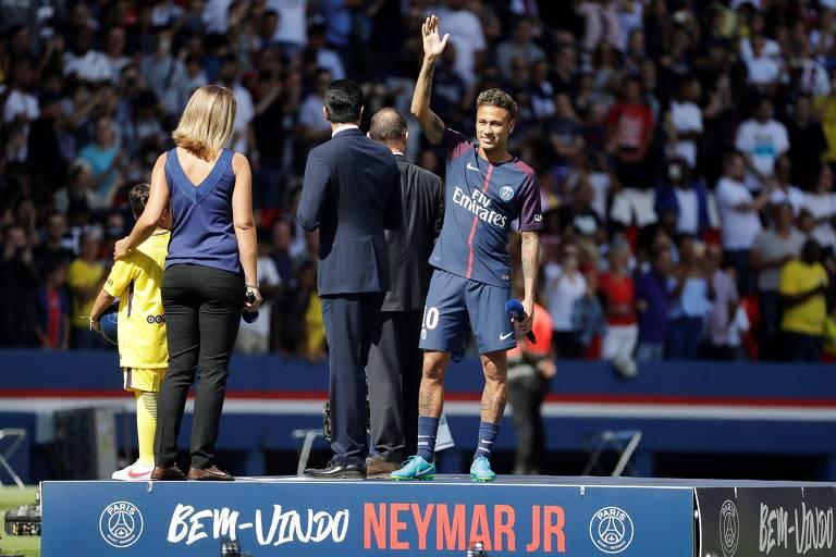 A trajetória de Neymar no PSG