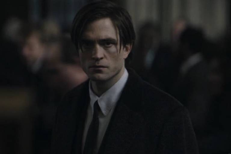 "Robert Pattinson no trailer de ""The Batman"""