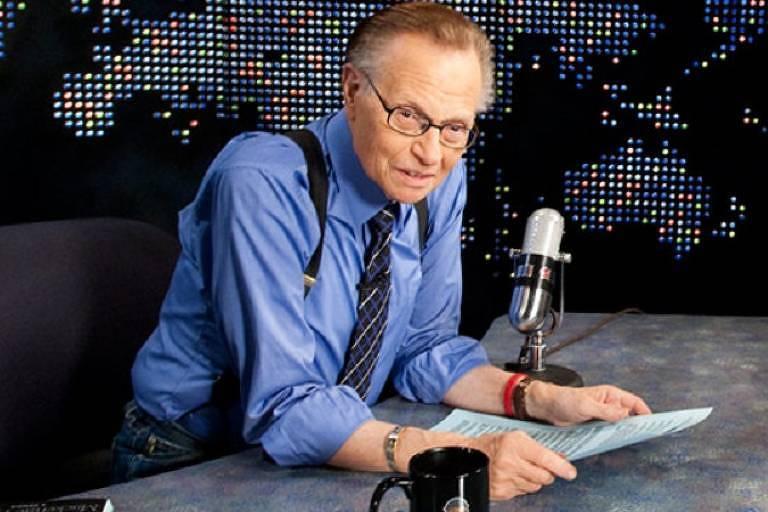 O apresentador Larry King