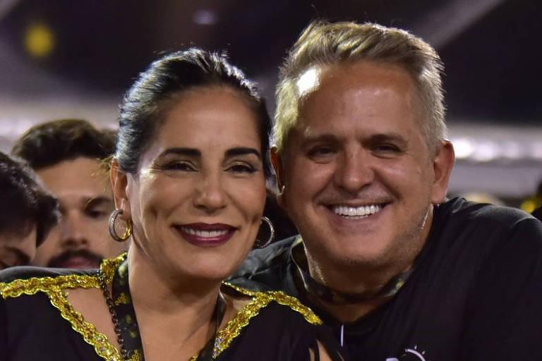 Glória Pires ganha festa surpresa e declaração do marido no dia de seu aniversário