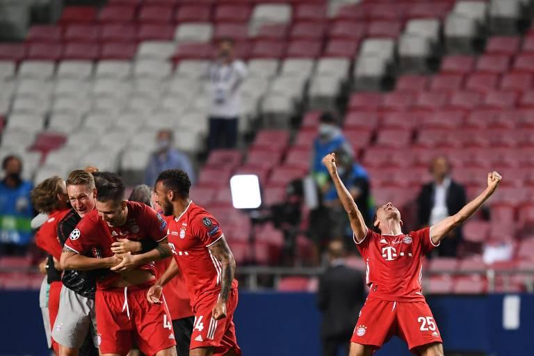 PSG 0 x 1 Bayern, final da Champions League de 2020