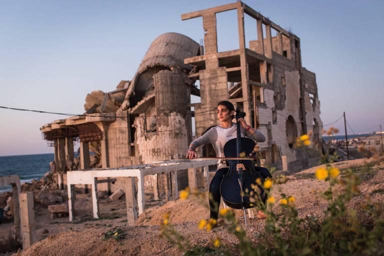 """Cena do documentário """"Gaza"""", de Garry Keane e Andrew Mcconnell"""