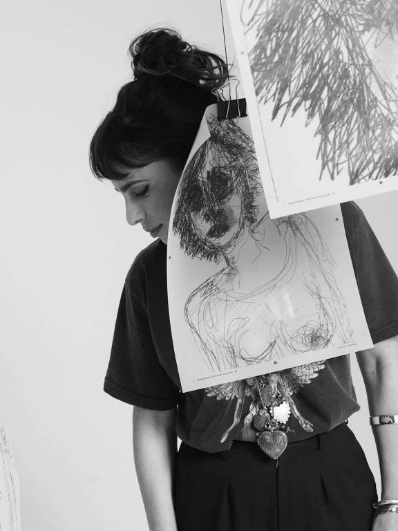 Maria Ribeiro clicada por Bob Wolfenson