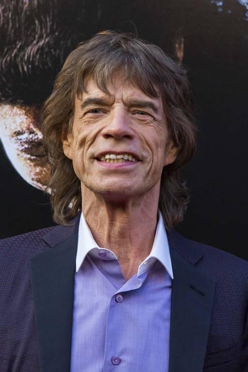Imagens do cantor Mick Jagger