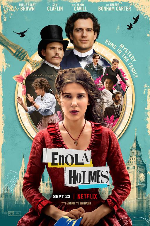 Imagens do filme Enola Holmes