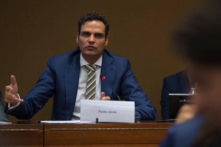 Paulo Abrão, agora ex-secretário executivo da Comissão Interamericana de Direitos Humanos, durante debate na ONU, em Genebra