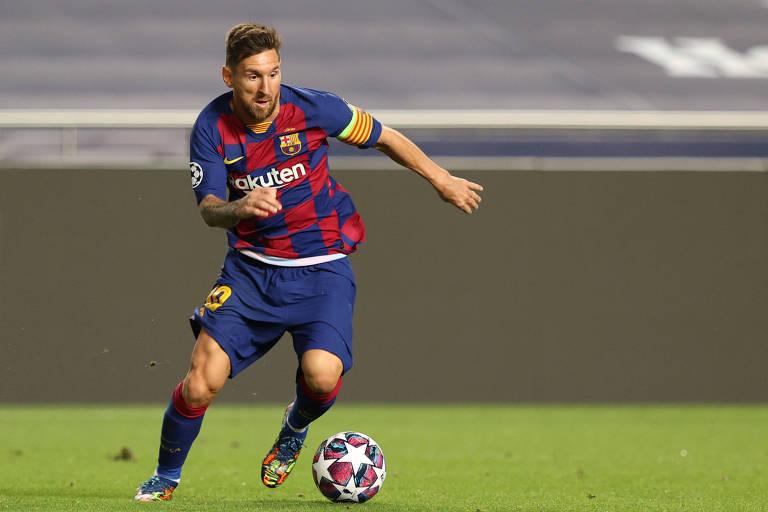 Messi anunciou à diretoria do Barcelona que deseja sair do clube