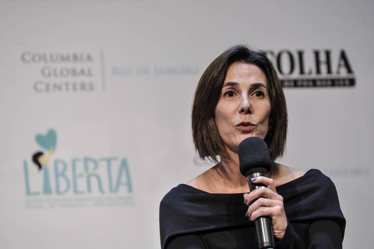A advogada Luciana Temer, presidente do Instituto Liberta
