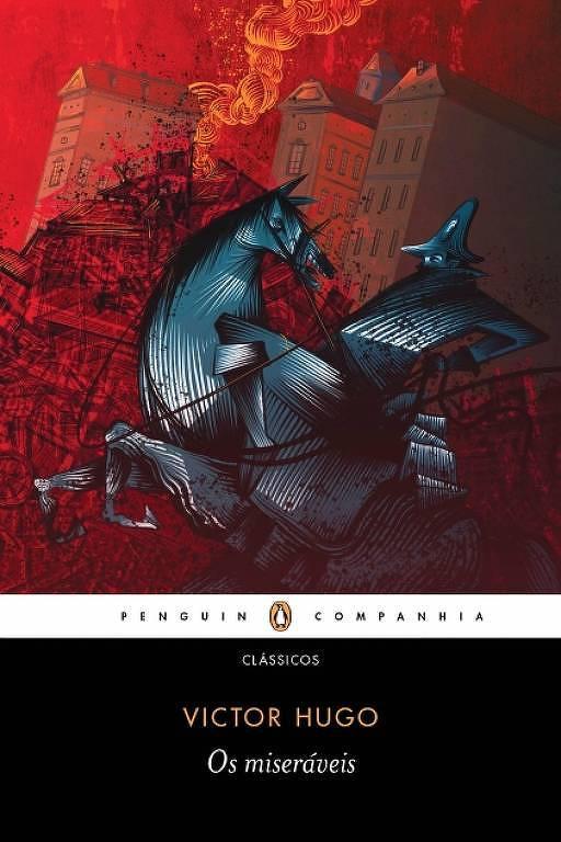 """Capa do livro """"Os Miseráveis"""""""