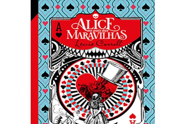 """Capa do livro """"Alice no País das Maravilhas"""""""