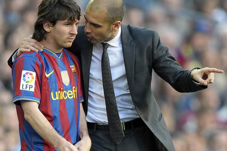 A trajetória de Messi pelo Barcelona