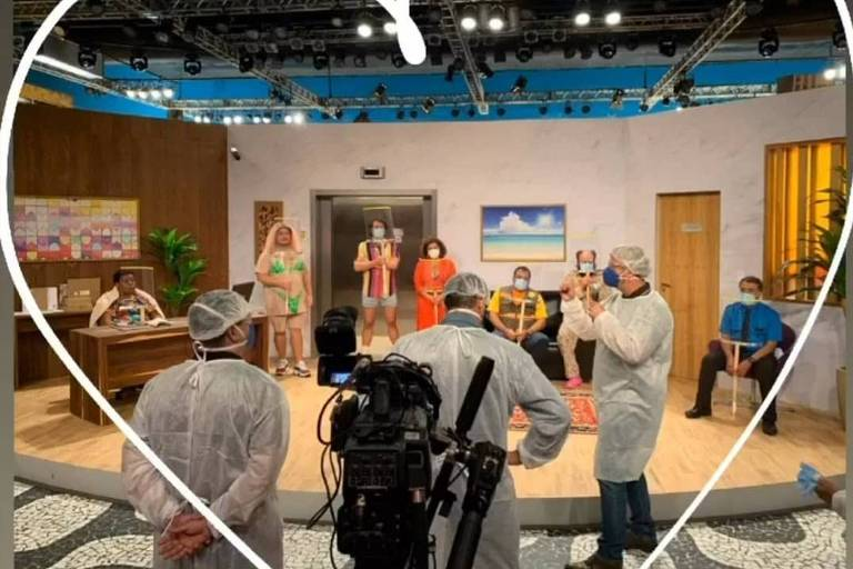 Multishow abre mão da plateia para gravar nova temporada do Vai que Cola
