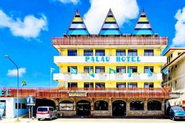 Palau Hotel é o mais antigo de Palau