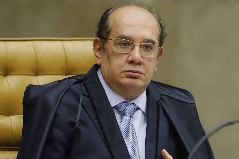 Ministro Gilmar Mendes durante sessão plenária por videoconferência