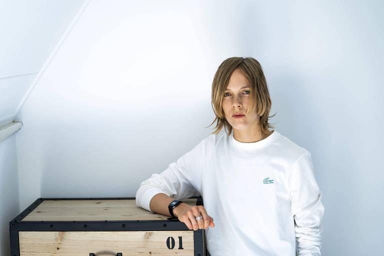 A escritora holandesa Marieke Lucas Rijneveld