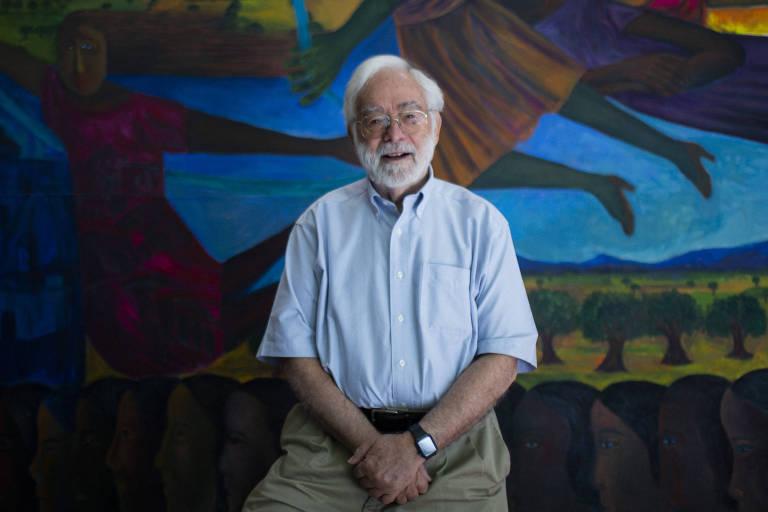 O historiador norte-americano Herbert S. Klein, professor emérito da Universidade de Columbia, nos EUA