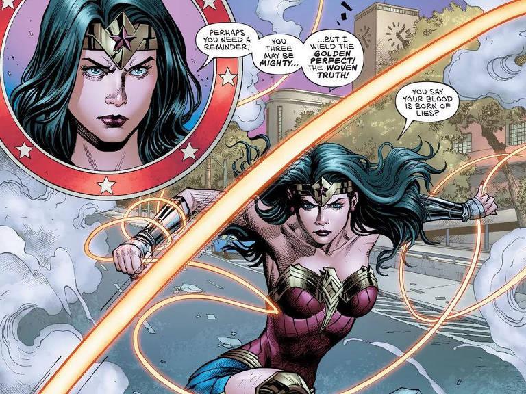 Nova HQ publicada pela DC da Mulher-Maravilha é ilustrada João Pessoa