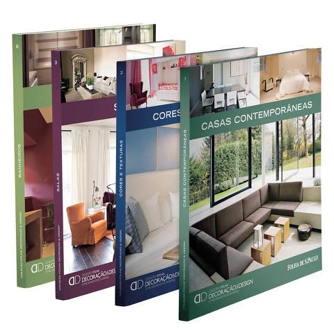 coleção decoração e design
