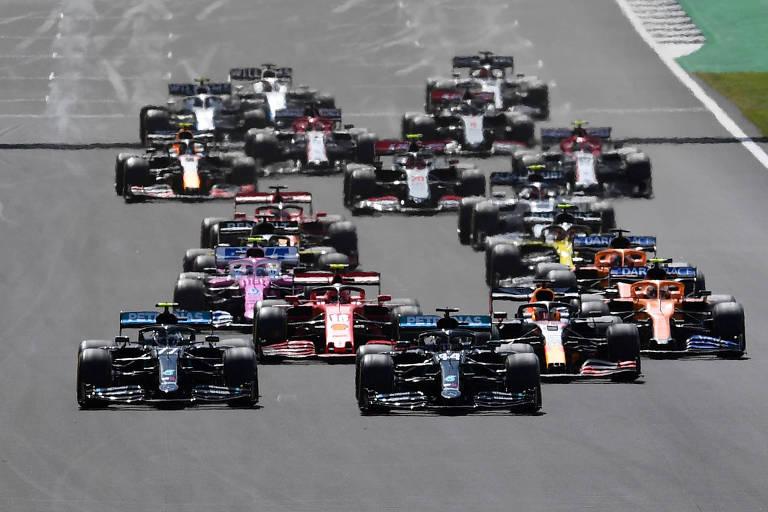 GP de Silverstone na temporada 2020